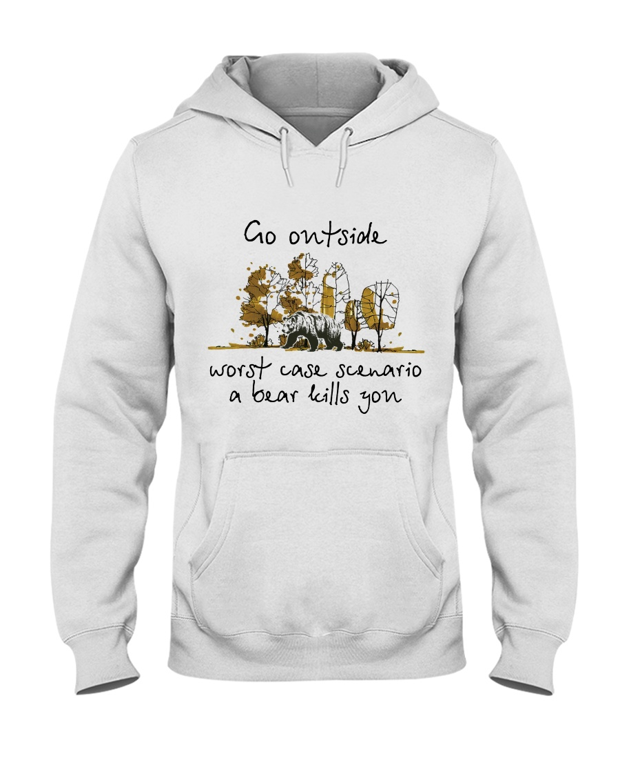 Go Outside Hooded Sweatshirt
