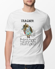 Thank Teacher Classic T-Shirt lifestyle-mens-crewneck-front-13