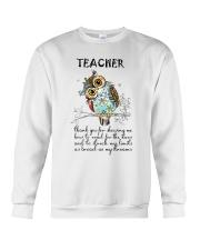 Thank Teacher Crewneck Sweatshirt thumbnail