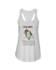 Thank Teacher Ladies Flowy Tank thumbnail