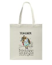 Thank Teacher Tote Bag thumbnail