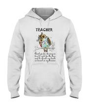Thank Teacher Hooded Sweatshirt thumbnail