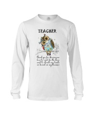 Thank Teacher Long Sleeve Tee thumbnail