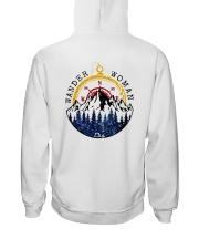Wander Woman Hooded Sweatshirt back