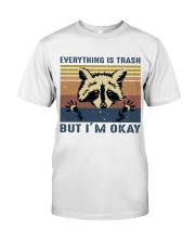 Everything Is Trash Classic T-Shirt front