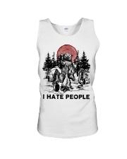 I Hate People Unisex Tank thumbnail