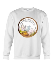 The Mountain Are Calling Crewneck Sweatshirt thumbnail