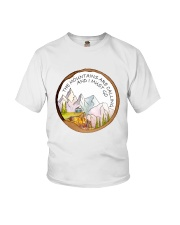The Mountain Are Calling Youth T-Shirt thumbnail