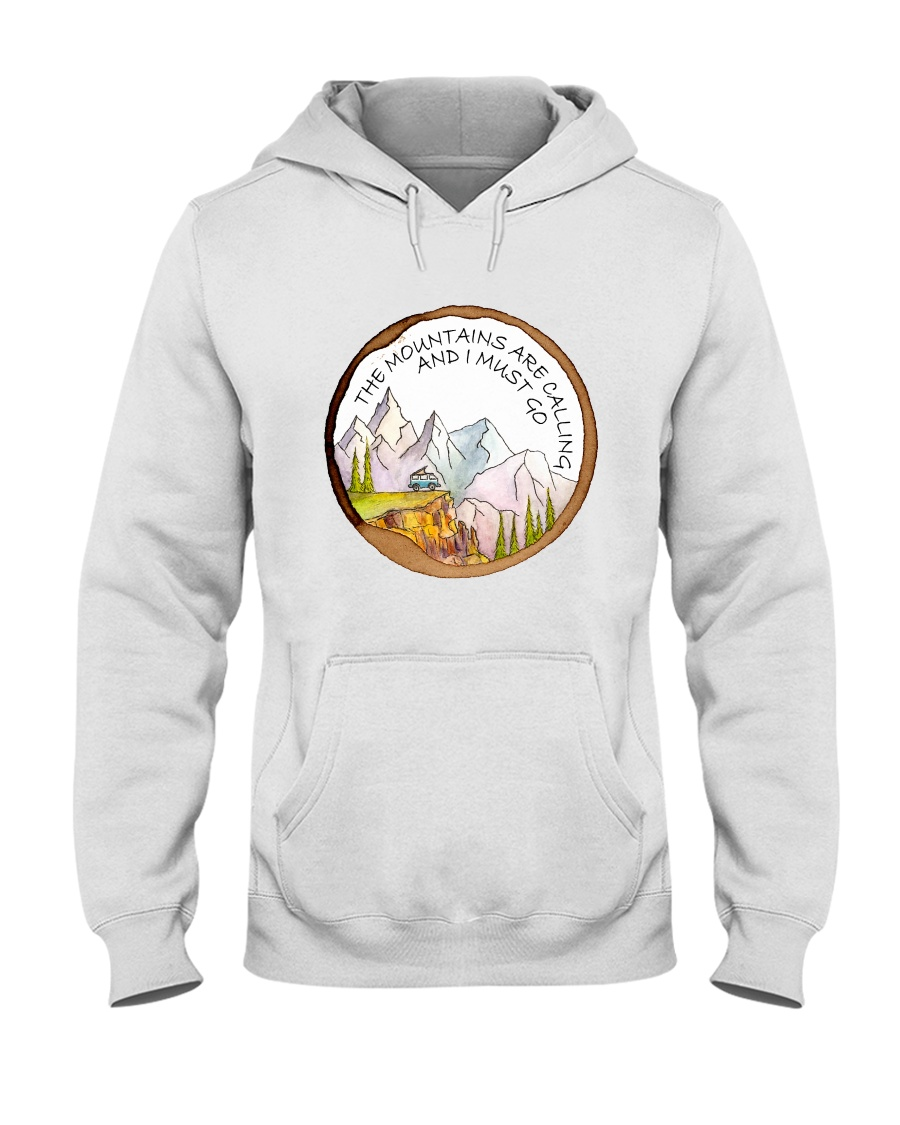The Mountain Are Calling Hooded Sweatshirt