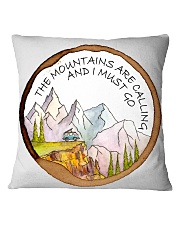 The Mountain Are Calling Square Pillowcase thumbnail