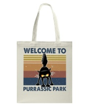 Welcome To Purassic Park Tote Bag thumbnail