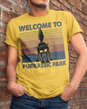 Welcome To Purassic Park Classic T-Shirt apparel-classic-tshirt-lifestyle-26