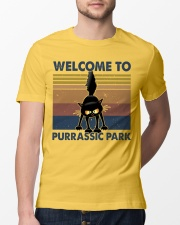 Welcome To Purassic Park Classic T-Shirt lifestyle-mens-crewneck-front-13