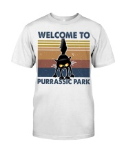 Welcome To Purassic Park Premium Fit Mens Tee thumbnail