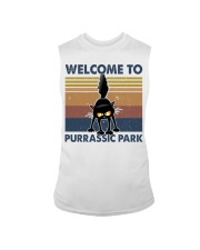 Welcome To Purassic Park Sleeveless Tee thumbnail