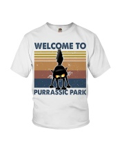 Welcome To Purassic Park Youth T-Shirt thumbnail