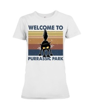 Welcome To Purassic Park Premium Fit Ladies Tee thumbnail