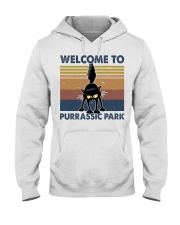 Welcome To Purassic Park Hooded Sweatshirt thumbnail