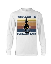 Welcome To Purassic Park Long Sleeve Tee thumbnail