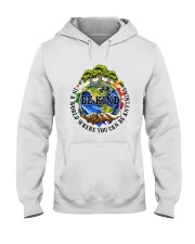 Be Kind In A World Hooded Sweatshirt thumbnail