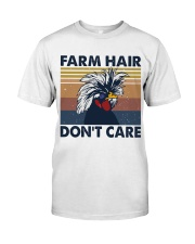 Farm Hair Don't Care Classic T-Shirt front
