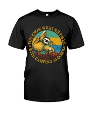 With Camping Alcohol Classic T-Shirt thumbnail