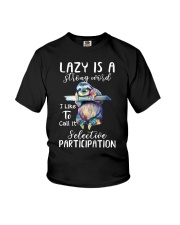 Lazy Is A Strong Word Youth T-Shirt thumbnail
