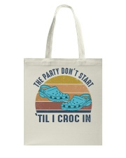 The Party Don't Start Tote Bag thumbnail