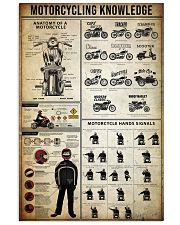 Motorcycling Knowledge 11x17 Poster front