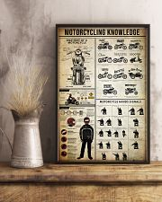 Motorcycling Knowledge 11x17 Poster lifestyle-poster-3