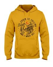 The Cabin Is Calling Hooded Sweatshirt thumbnail