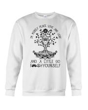 Peace Love And Light Crewneck Sweatshirt thumbnail
