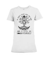 Peace Love And Light Premium Fit Ladies Tee thumbnail
