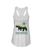 The Air Of New Places Ladies Flowy Tank thumbnail