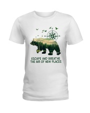 The Air Of New Places Ladies T-Shirt thumbnail