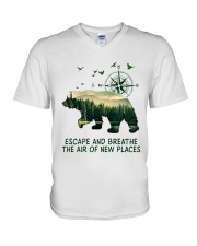 The Air Of New Places V-Neck T-Shirt thumbnail