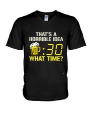 That Horrible Idea V-Neck T-Shirt thumbnail