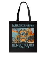 Muff Drivers Union Tote Bag thumbnail