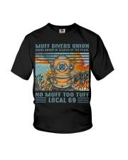 Muff Drivers Union Youth T-Shirt thumbnail
