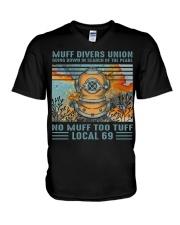 Muff Drivers Union V-Neck T-Shirt thumbnail
