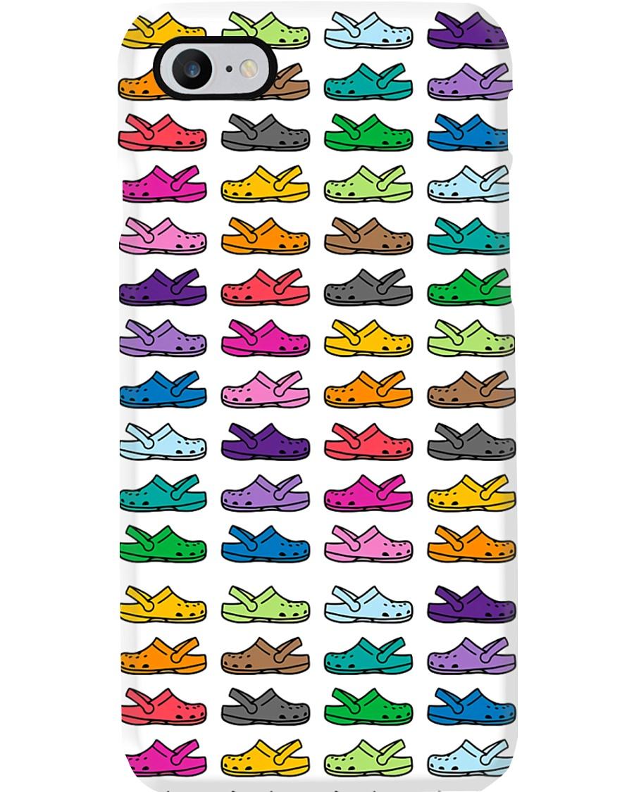 Rainbow Crocs  Phone Case