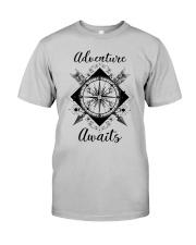 Adventure Awaits Classic T-Shirt front