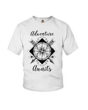 Adventure Awaits Youth T-Shirt thumbnail
