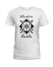 Adventure Awaits Ladies T-Shirt thumbnail