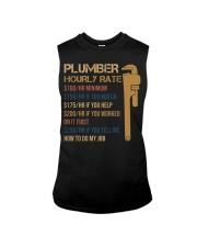 Plumber Hourly Rate Sleeveless Tee thumbnail