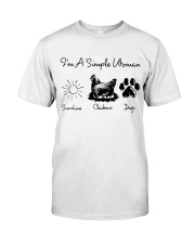 I'm A Simple Woman Premium Fit Mens Tee thumbnail