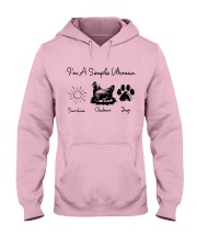 I'm A Simple Woman Hooded Sweatshirt front