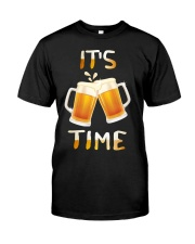 Its Time Classic T-Shirt front
