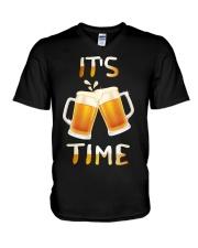 Its Time V-Neck T-Shirt thumbnail