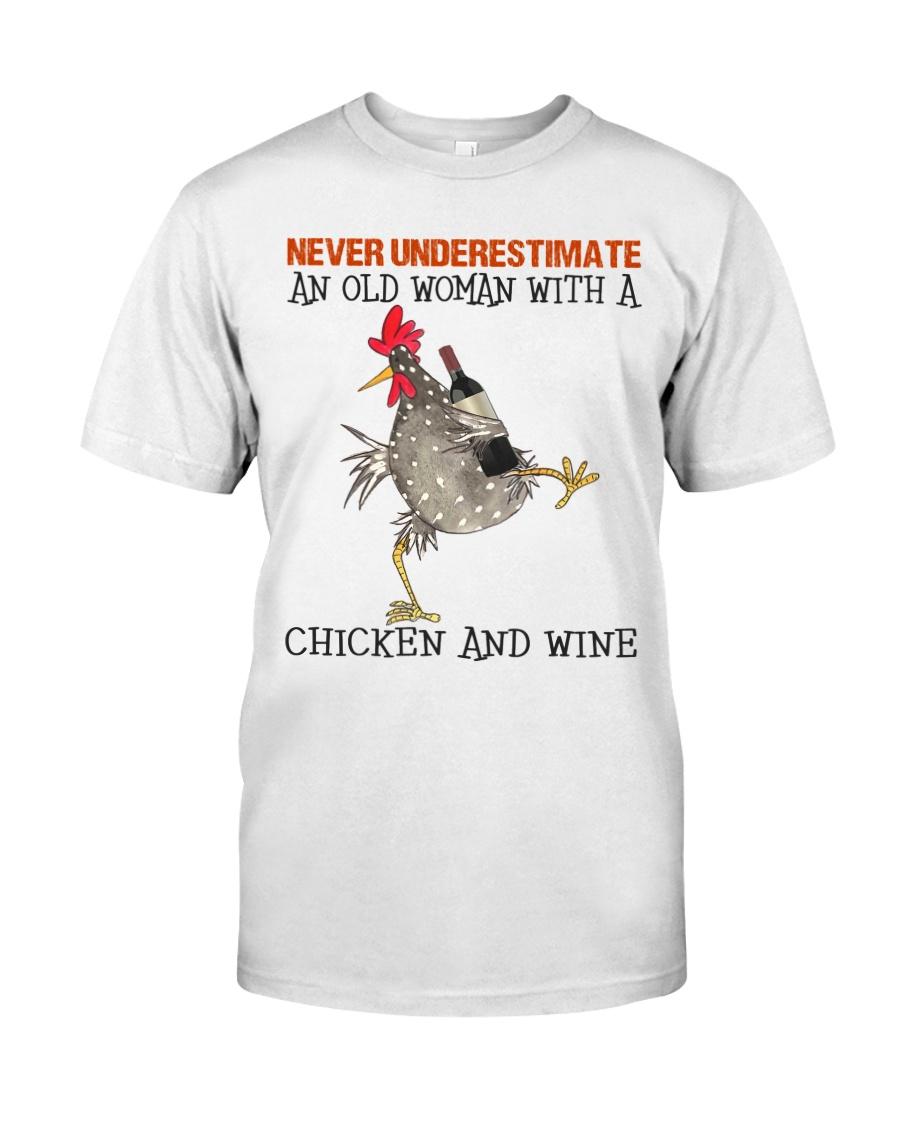 Chicken And Wine Classic T-Shirt